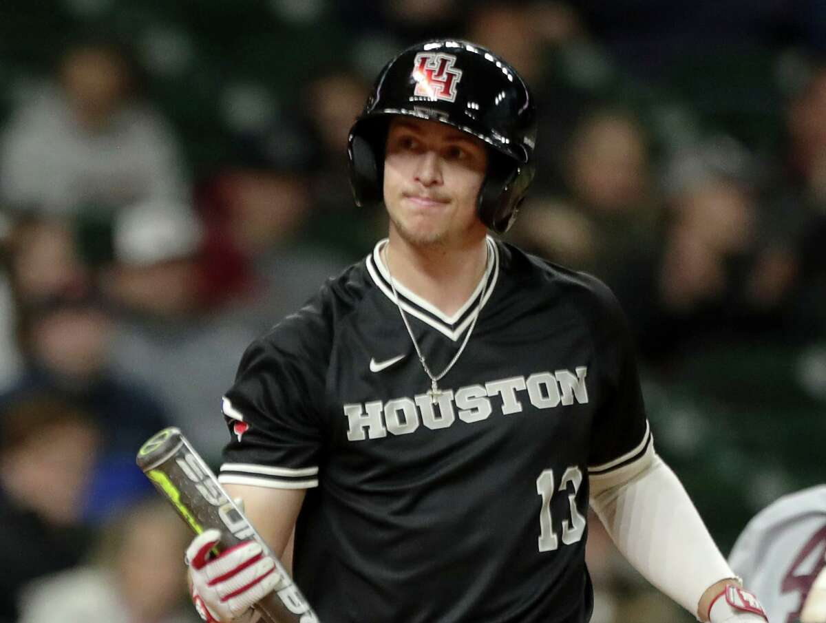 UH senior left fielder Tyler Bielamowicz ranks second nationally with a .619 batting average in the early going and has homered three times in 21 at-bats.