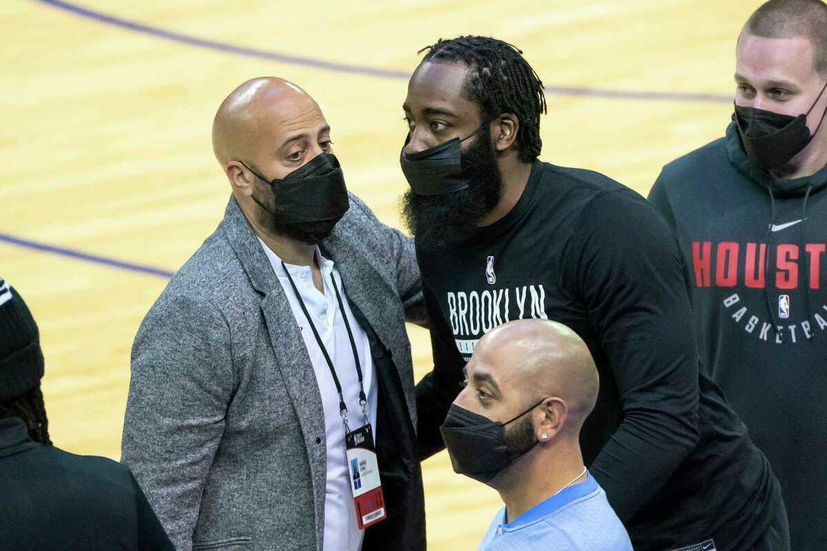 Rockets GM Rafael Stone's tumultuous first season on the job included trading franchise face James Harden after he wanted out. Stone said the Rockets' rash of injuries made their NBA worst-record worse than the state of the team.