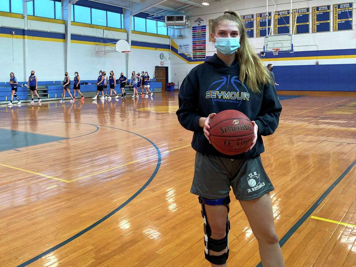 Seymour junior Kenzie Sirowich, who is back leading the Wildcats after missing most of the last two seasons to knee injuries.