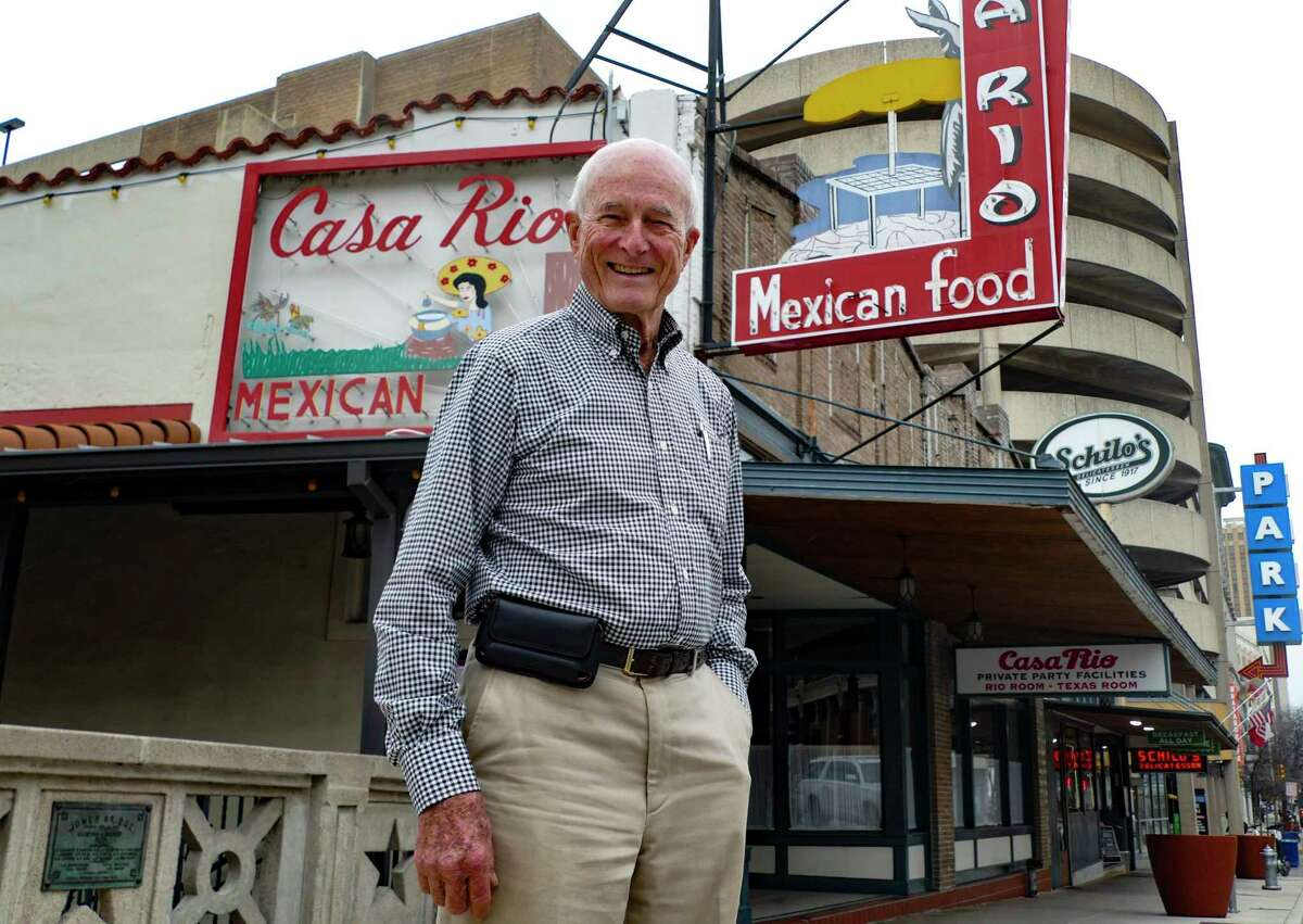 Bill Lyons is owner of Casa Rio and Schilo's, believed to be the oldest continually operating restaurant in San Antonio.