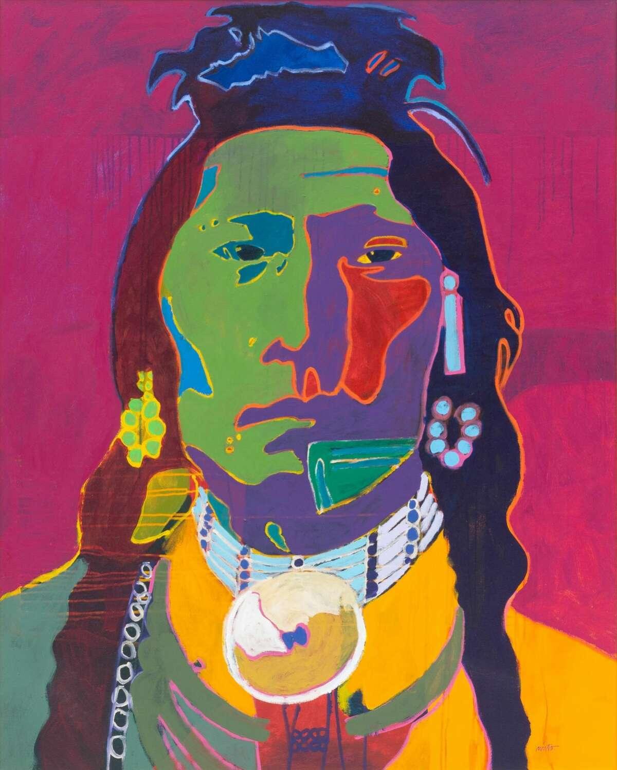 John Nieto (1936-2018), Thundercloud.
