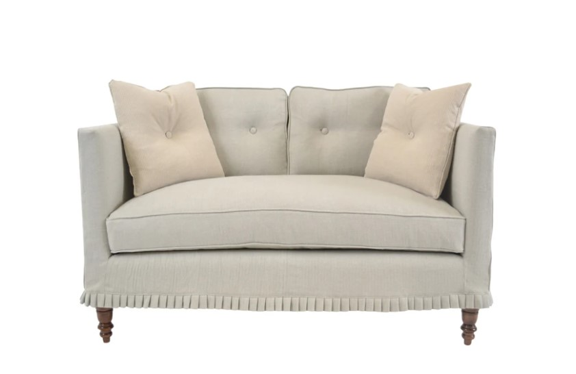 The Francis settee designed and built by Quatrine.