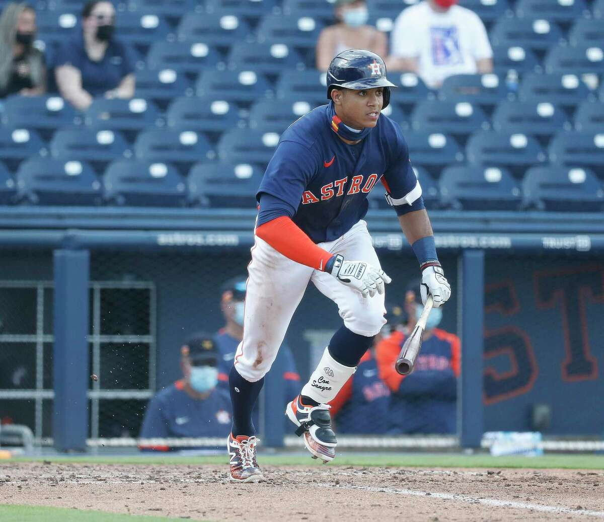 Astros infielder Jeremy Peña has yet to play above Advanced Class A, but that figures to change in 2021.
