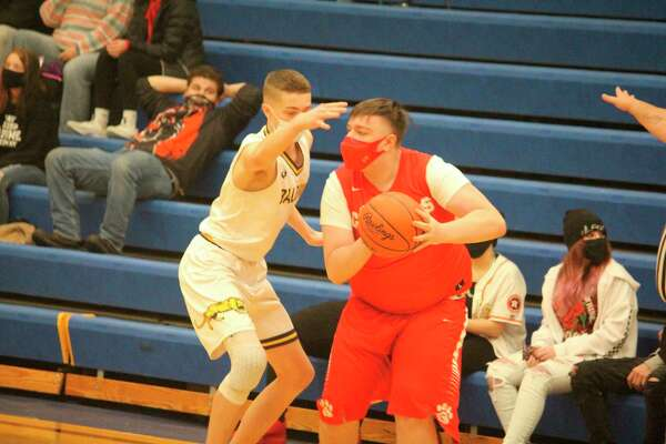 Dylan Hibma (left) and the Panthers suffered a tough loss against Brethren. (Star file photo)