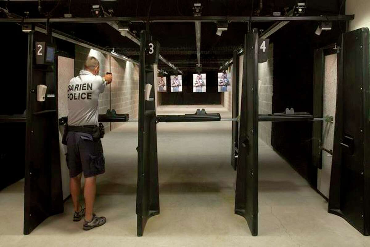 The Darien Police Department addition was completed in 2012. This is their 4-lane indoor firearms training range. Darien PD square footage is 36,938 square feet.