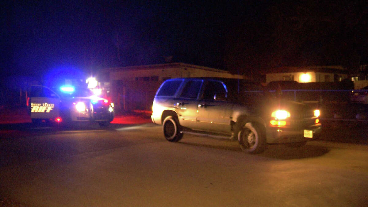 The Bexar County Sheriff's Office detained three people in a possible human trafficking incident Wednesday night.