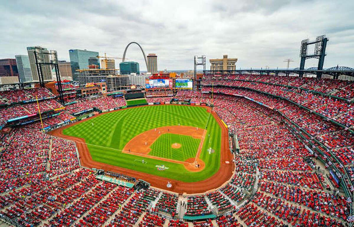 Busch Stadium, Home of the St. Louis Cardinals since 2006.