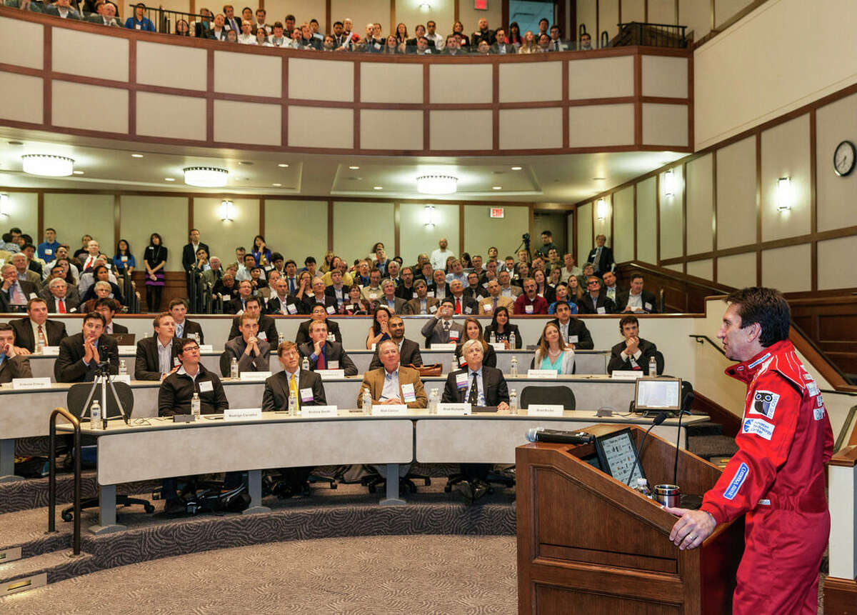 Rice Business Plan Competition will be held virtually for the second time because of the pandemic. A file photo shows the participants competing at Rice University in 2013.