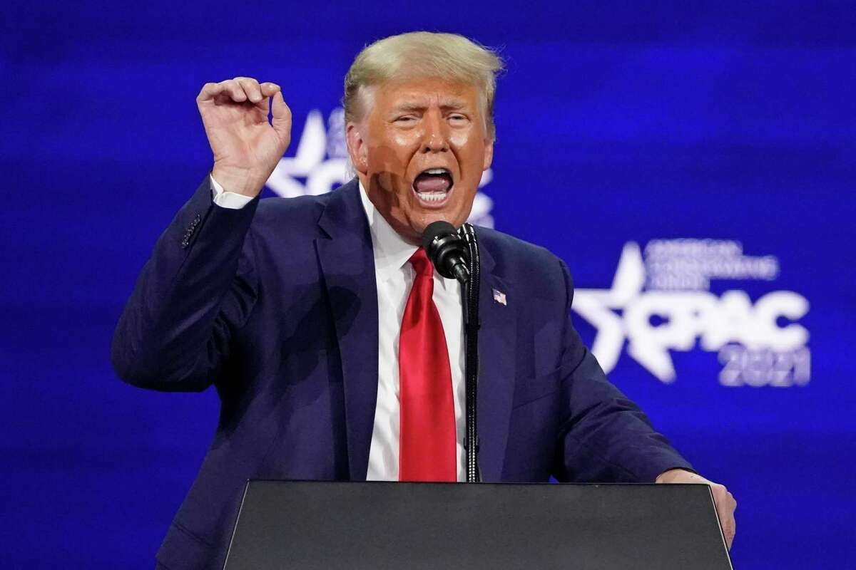 There he goes again. Former President Donald Trump recently spoke at the Conservative Political Action Conference, taking aim at voting rights and democracy.
