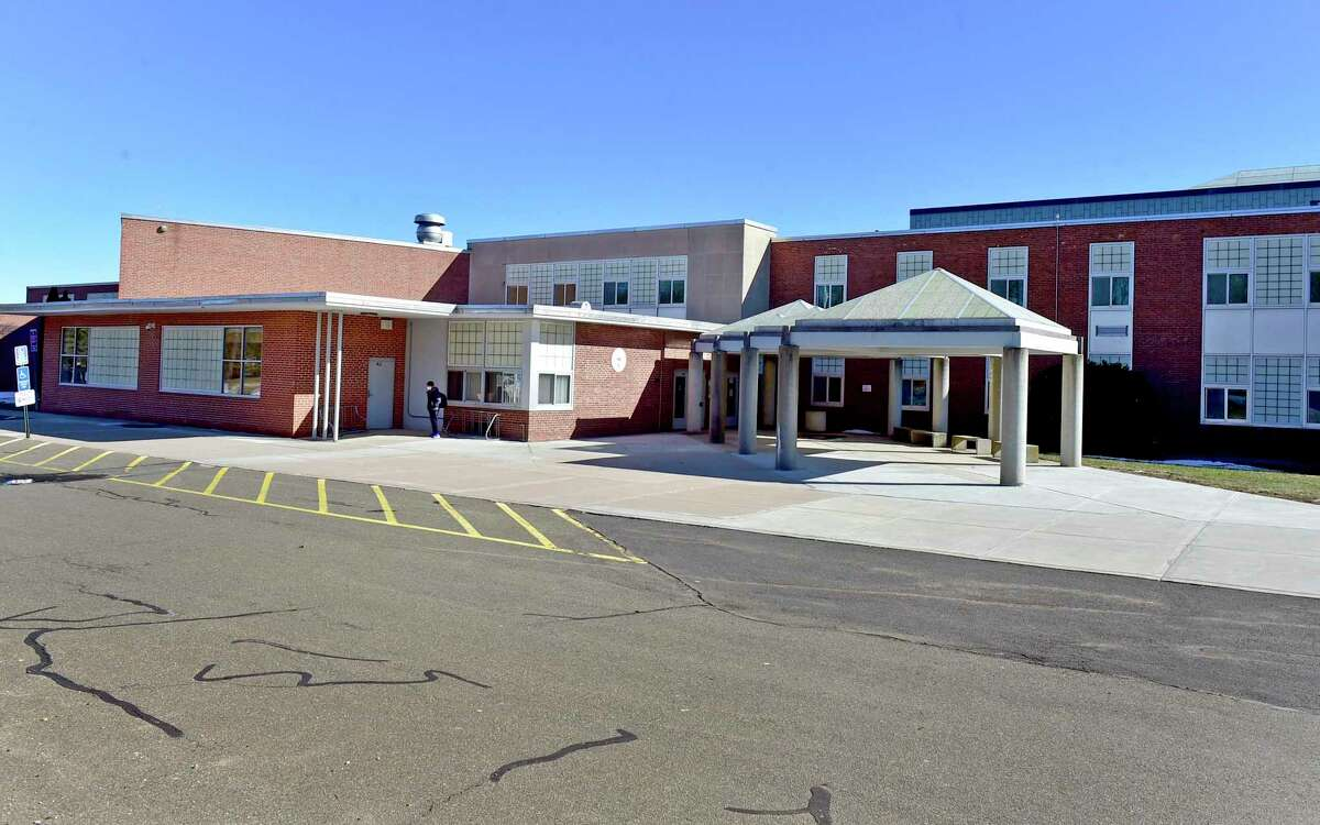 Branford, Connecticut - Tuesday, March 2, 2021: Branford High School.