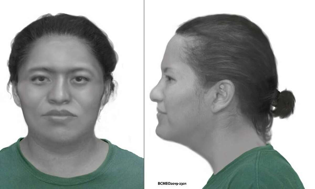 Texas Ranger Forensic Artist of the Texas Rangers Evidential Art and Facial Identification Office created a a digital postmortem rendition of the woman found in 2019.