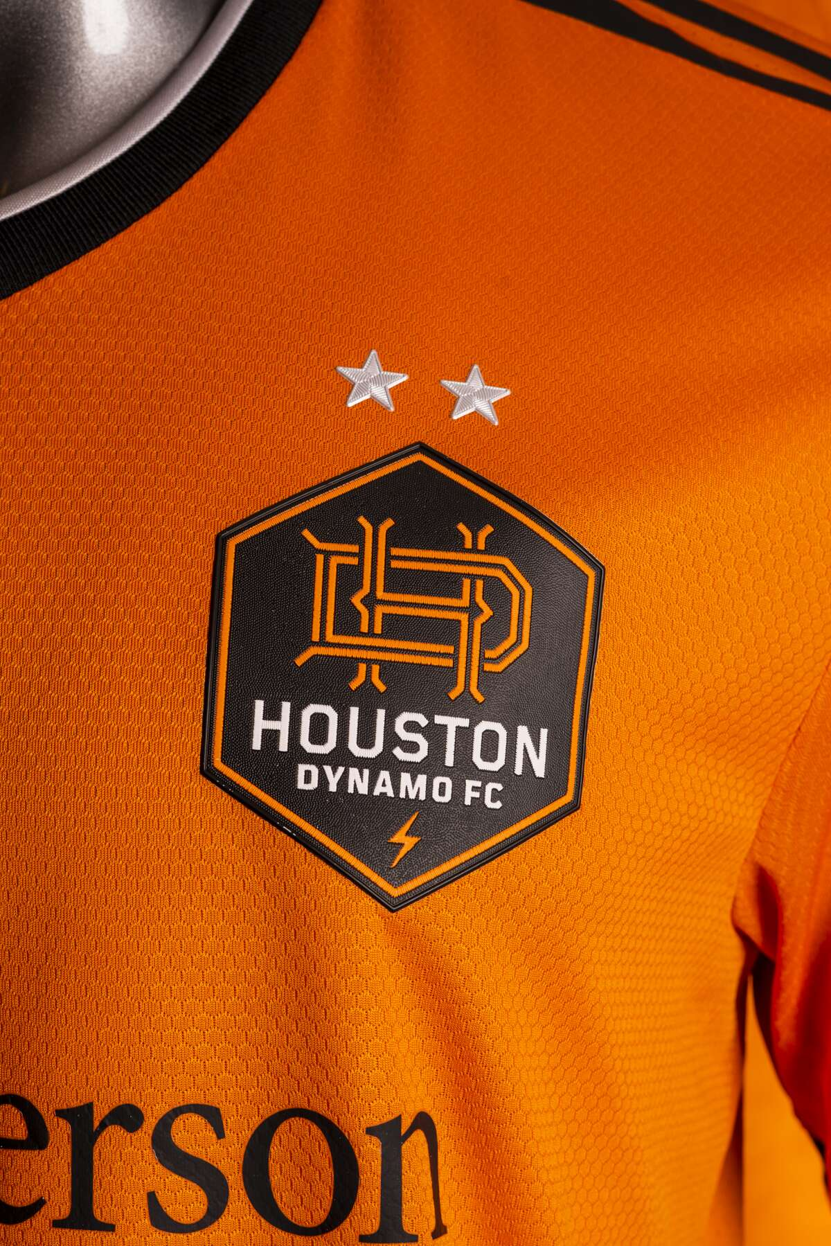 The Dynamo's new uniform.