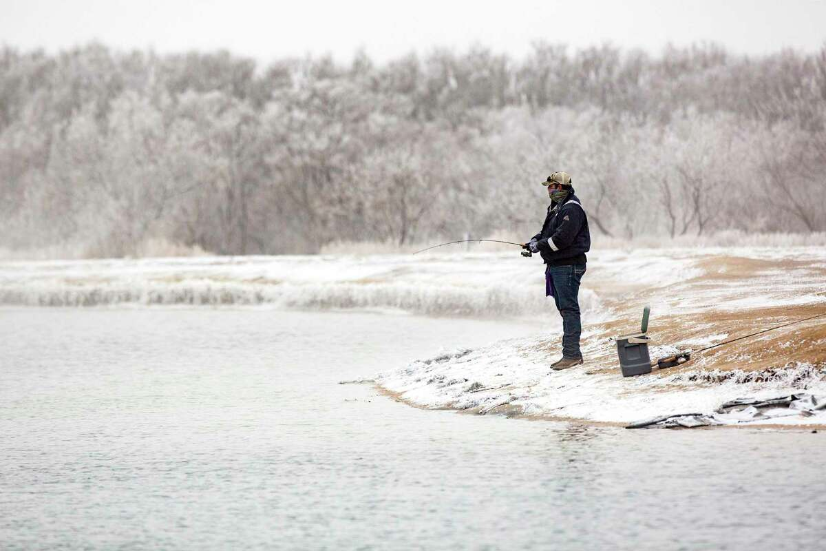Few anglers were hardy enough to venture out during the winter storm, but afterward they found widespread coastal fish kill, especially to the south, and minimal effects on freshwater species.
