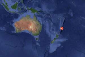 A third massive earthquake struck off New Zealand's northeastern coast Thursday, March 4, 2021, triggering the third tsunami and evacuation warnings of the day.