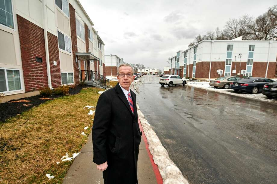 Kansas City Councilman Dan Fowler is pleased with the rehabilitation of Englewood Apartments. However, he doesn't understand how HUD let it slip so far in the first place. Photo: Earl Richardson/Contributor / ? 2021 Earl Richardson / Houston Chronicle
