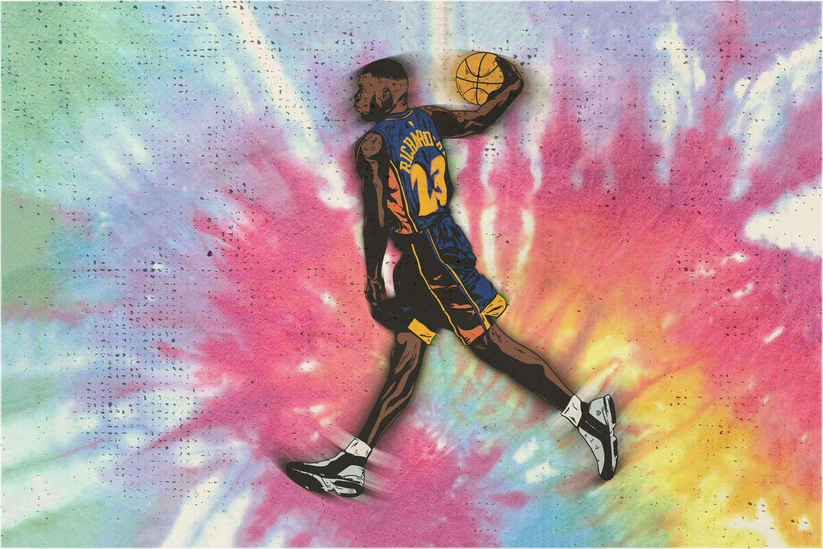 Two-time Slam Dunk Contest champion Jason Richardson, who played for the Warriors from 2001-2007.