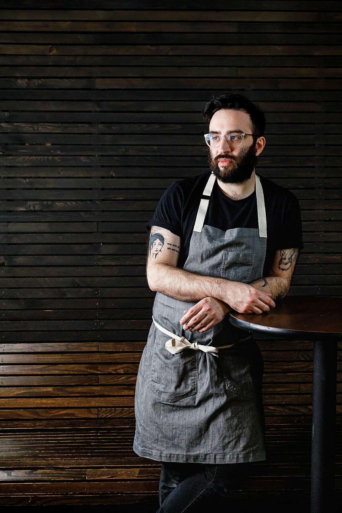North Block executive chef Nick Tamburo most recently worked at Momofuku in New York.