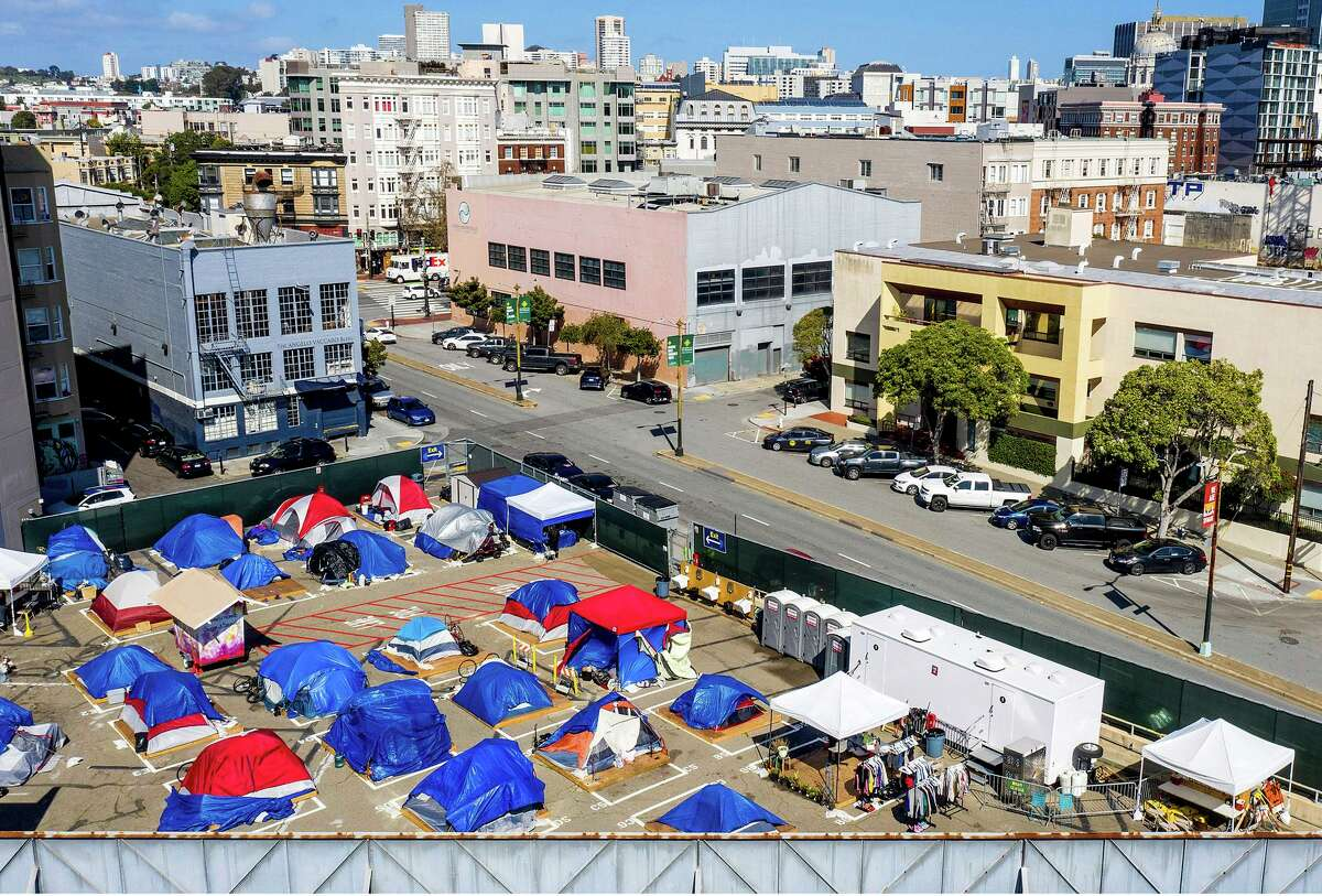 The city created homeless encampment sites during the pandemic to get people off the streets and allow them to access basic services.