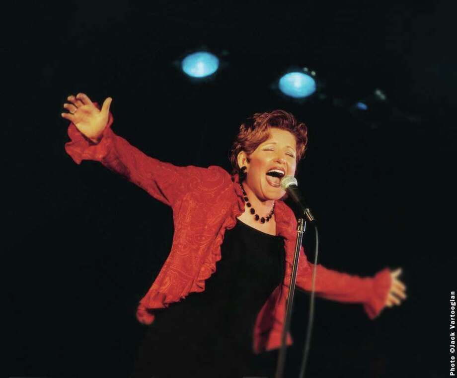 Contributed photo/Jack Vartoogian Award-winning cabaret performer Klea Blackhurst will bring 'Everything the Traffic Will Allow: The Songs and Sass of Ethel Merman' to Westport's Music Theatre of Connecticut on Oct. 8. The show, which runs for three weekends, opens the 2010-11 season. Photo: Contributed Photo / Stamford Advocate Contributed