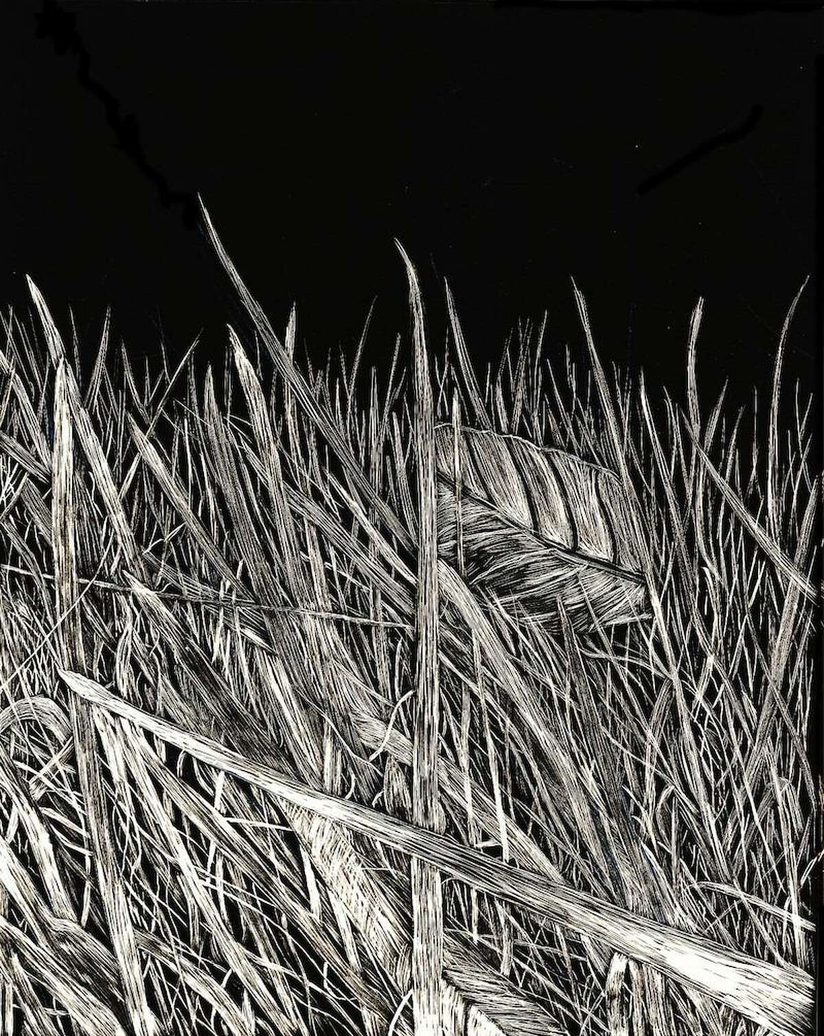 """""""Blades of Grass"""" by Sophie Austin, a current New Canaan High School student"""