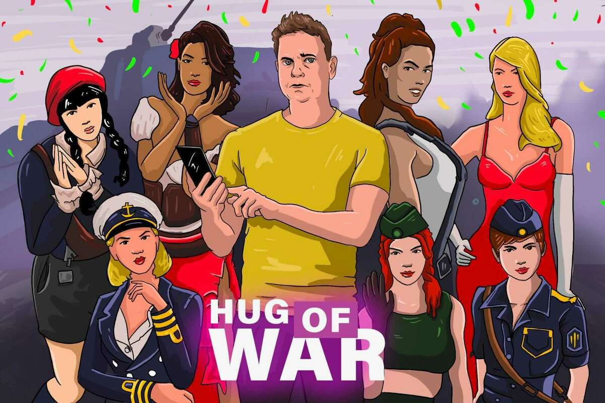 """SFGATE columnist Drew Magary tried playing three notoriously horny iPhone games: """"Kiss of War,"""" """"Producer"""" and """"Call me a Legend."""""""