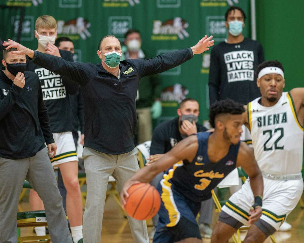Siena coach Carm Marciariello said his team is looking forward to playing either opponent it may face in the quarterfinal. (Jim Franco/Special to the Times Union)