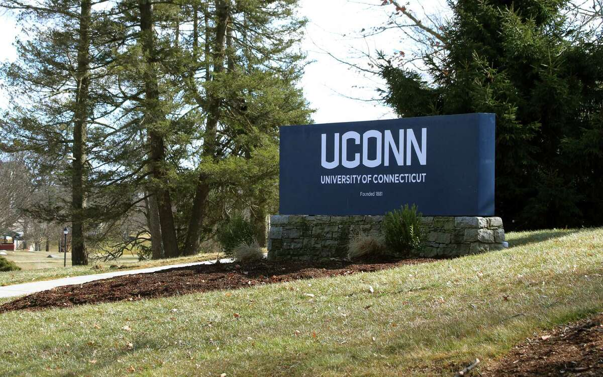 A view of UConn campus in Storrs, Conn., on Thursday Mar. 4, 2021.