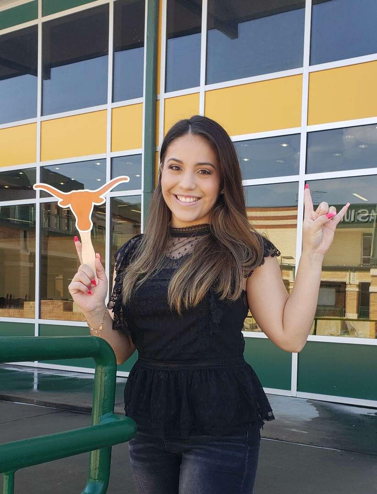 Nixon High School's Laysha Gonzalez has been selected a Finalist for the University of Texas Forty Acres Scholars 2025 Program.
