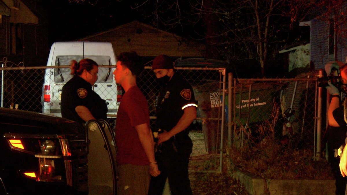 A 19-year-old is accused of shooting and killing his 49-year-old stepfather during a fight early Friday morning.