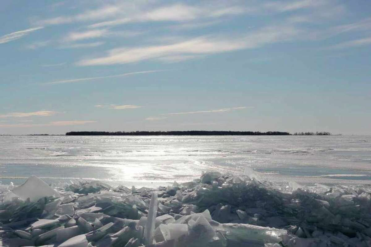 Despite cold weather conditions, Huron County Sheriff Kelly Hanson said ice conditions are poor and extreme caution is needed. (Tribune File Photo)