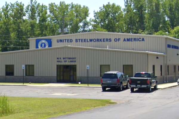 USW Local 12075 union is located at 3510 James Savage Rd, Midland. (Screen photo/Google Maps)