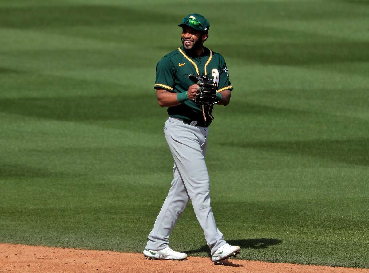 New A's shortstop Elvis Andrus plays better defense than his popular predecessor. Andrus also makes less money, helping the team pay others and stay under budget.