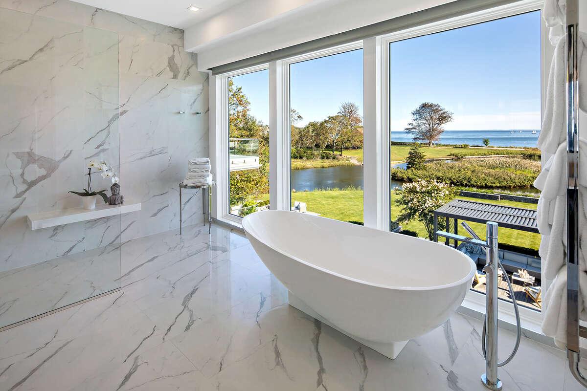 Marble master spa bath at 10 Gray Lane, Westport.