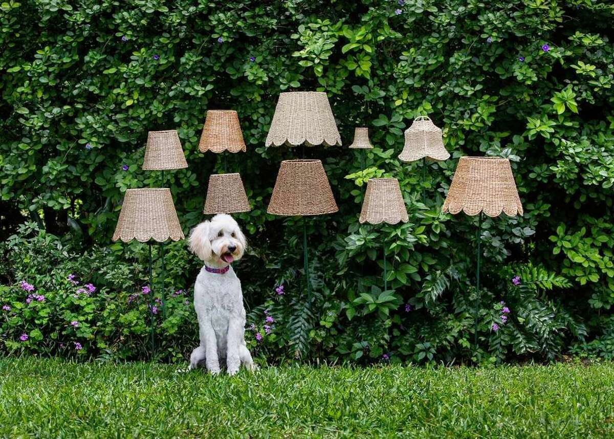 Maison Maison has a new line of rattan, seagrass and water hyacinth lampshades ranging from $50-$200.