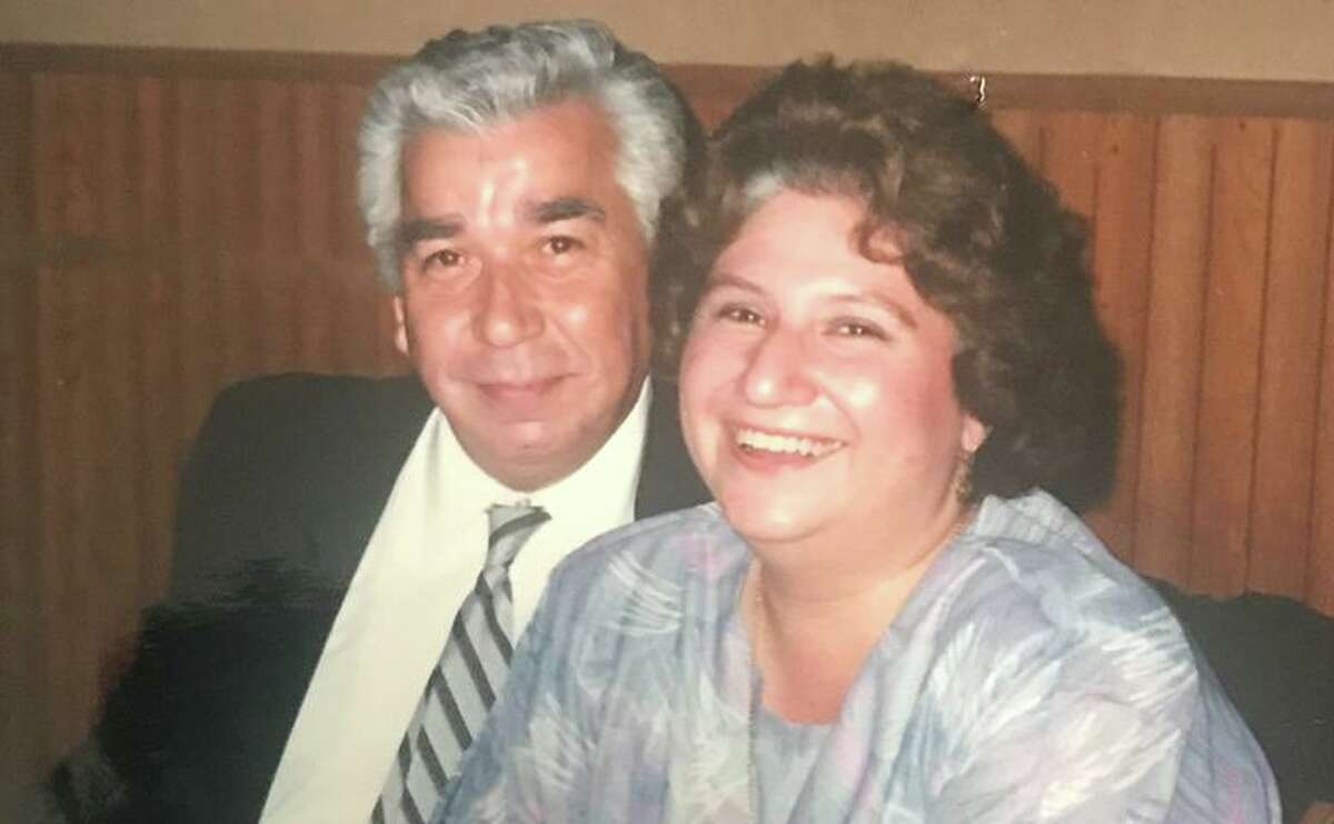 Arthur Martinez is shown with his wife, Estella Martinez. He was a widower when he died June 28, and was supposed to be cremated, according to a lawsuit against the funeral home that was handling it. The suit says the funeral home failed to pick up Martinez's body from a hospital and he was buried by the county.