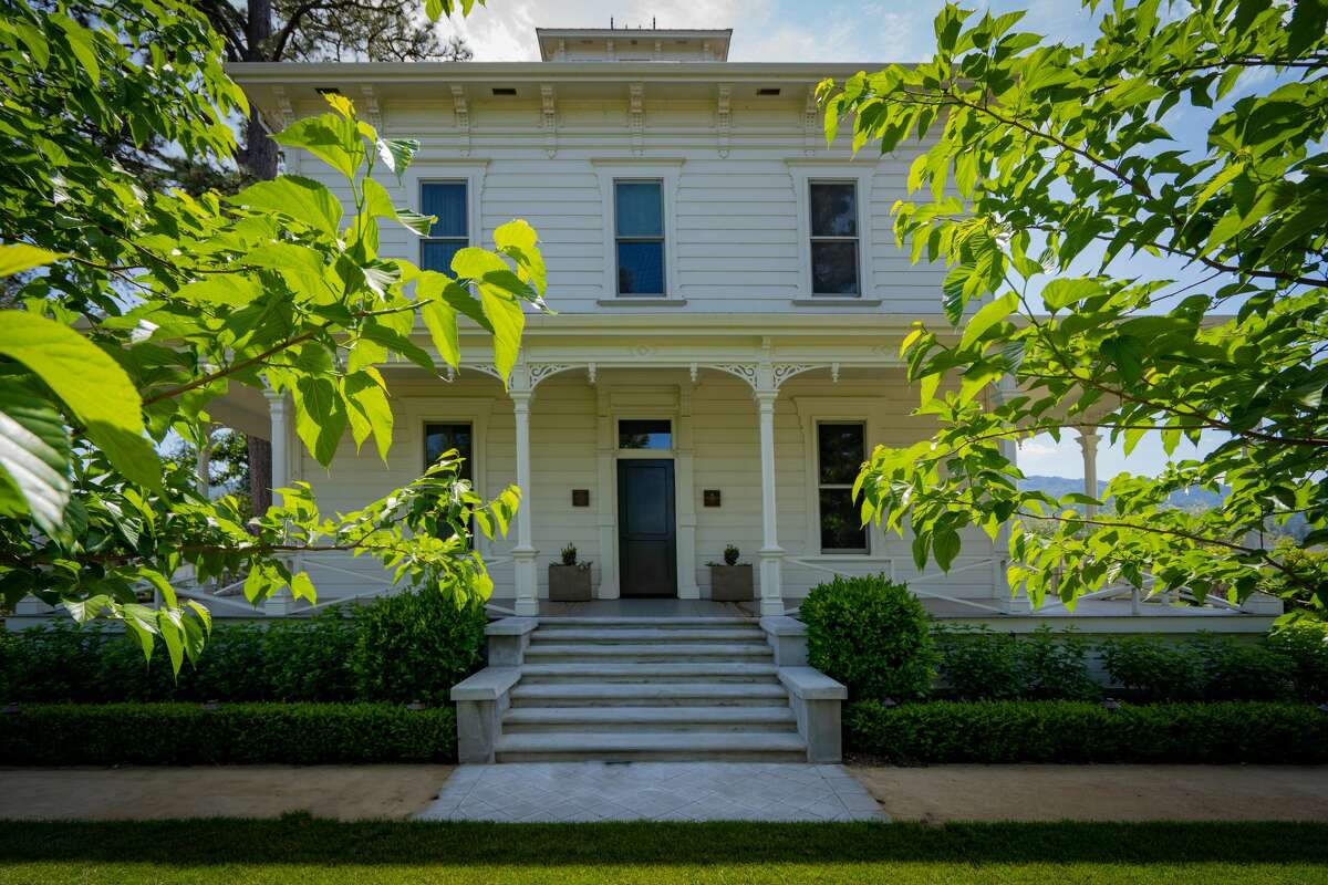The Italianate Farmhouse was built in the late 1880s, and retains its original beauty.