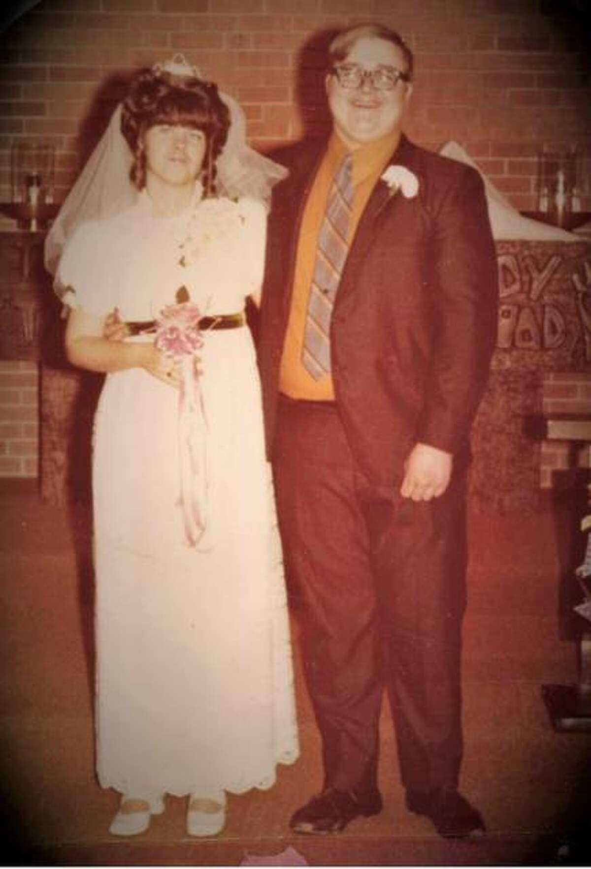 Richard and Sharon Chambers at their wedding