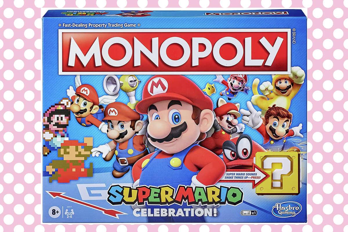 Super Mario version of Monopolyfor $20.99 on Amazon