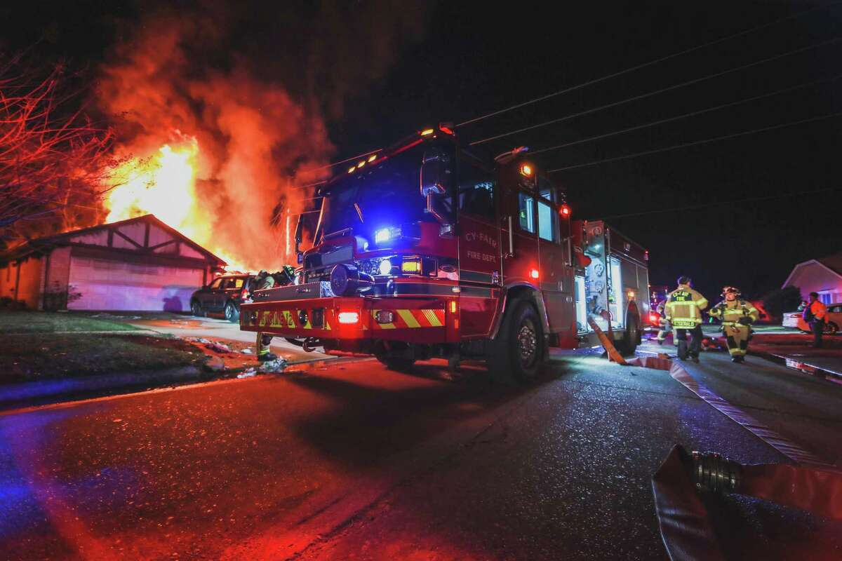 Cy-Fair Fire Department ran more than 1,800 calls from Feb. 14 to Feb. 19 during Winter Storm Uri. The emergency operations center acted as a base to dispatch firefighters for aid while instructing calls over the phone if possible.