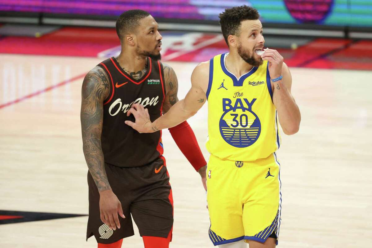 Damian Lillard and Stephen Curry could hit a few shots from the rafters, if the All-Star Game gets a little out of hand.