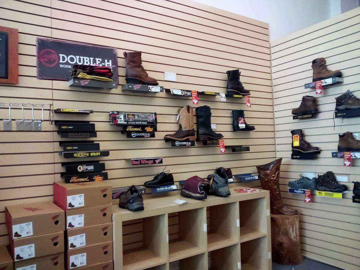 Connecticut Boot & Shoe LLC on Water Street sells high-quality footwear for working people.