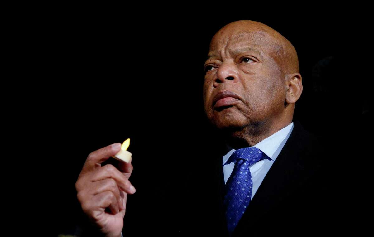 Although he passed last year, former U.S. Rep. John Lewis' profound spirituality and love remain models for Americans in this divisive moment in politics.