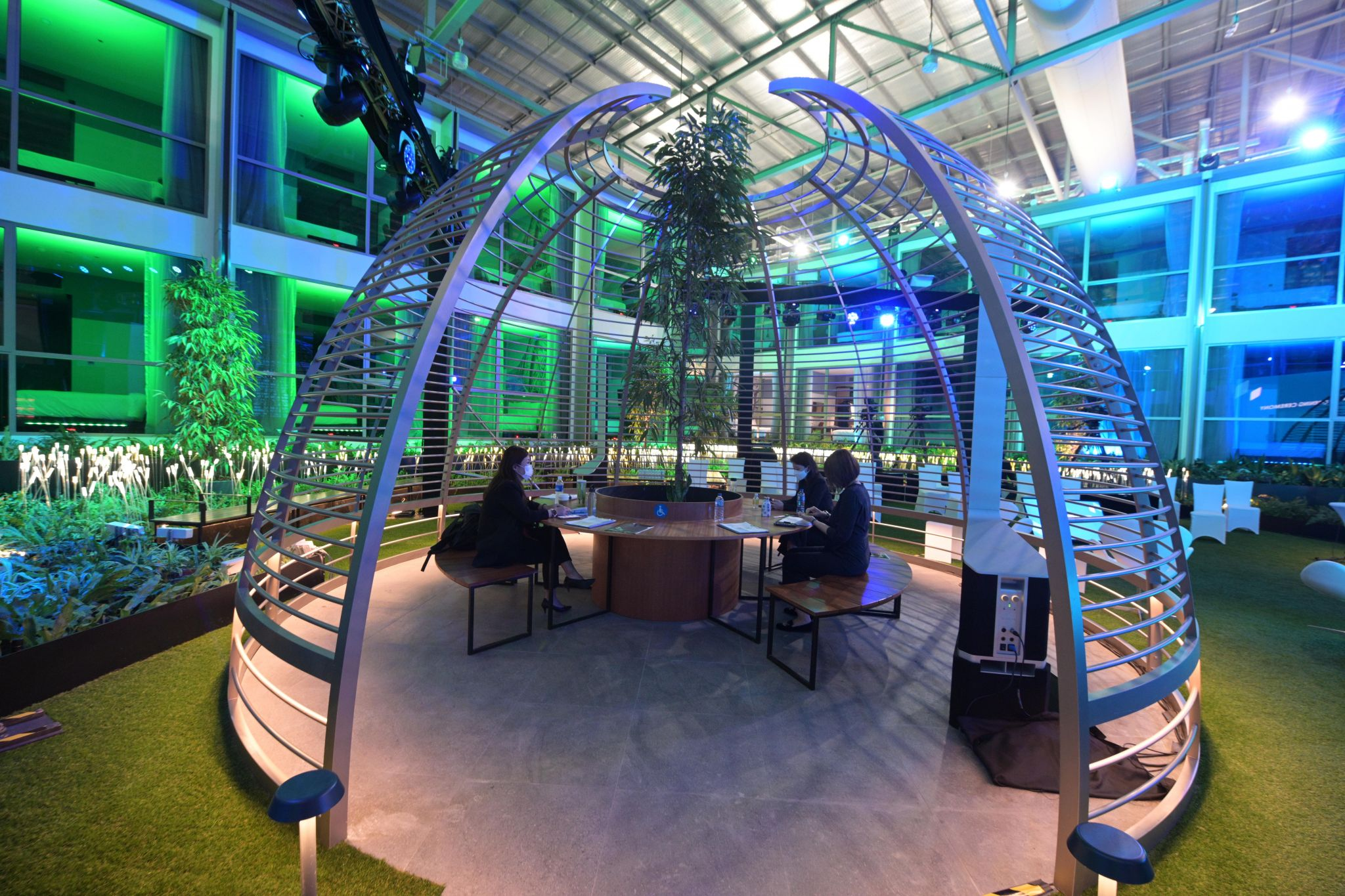 Singapore builds world's first COVID-safe 'bubble' hotel