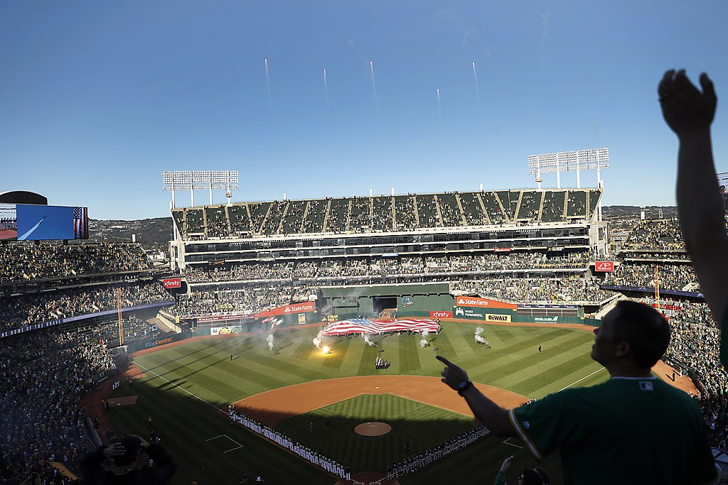 A's to offer COVID-19 vaccinations during games at Coliseum