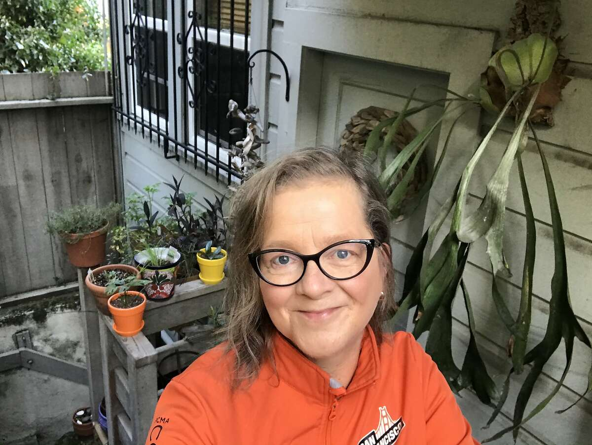 Pat Swan, a longtime San Francisco resident, wants to move to a home elsewhere in California but can't find one that is affordable.