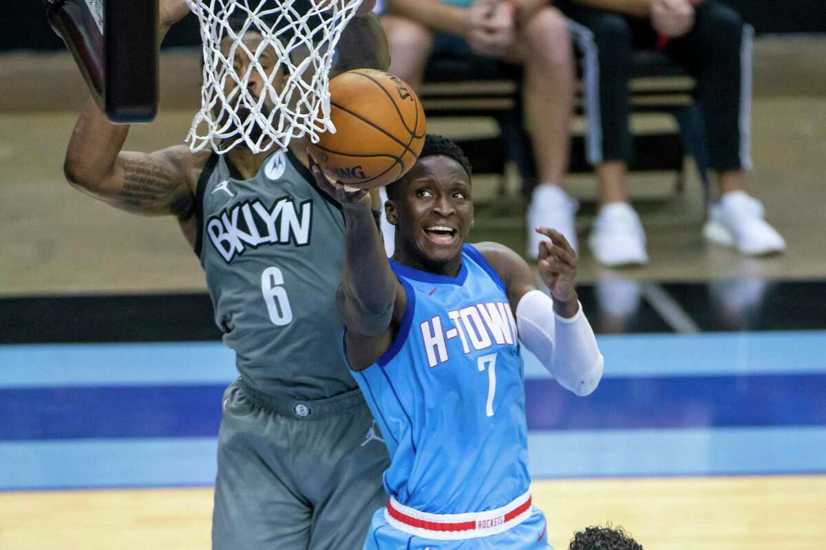 Victor Oladipo will be a free agent at the end of the season, which gives the Rockets several options to think about as the trade deadline nears.