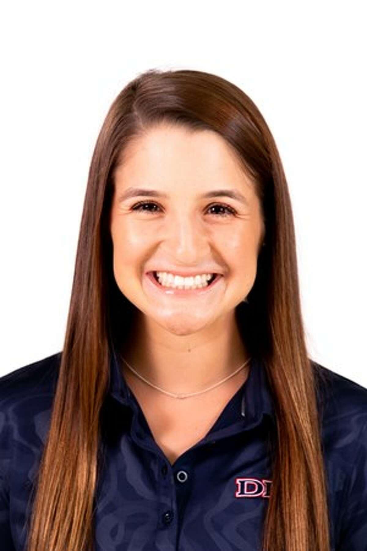 Dallas Baptist University golfer Faith DeLaGarza