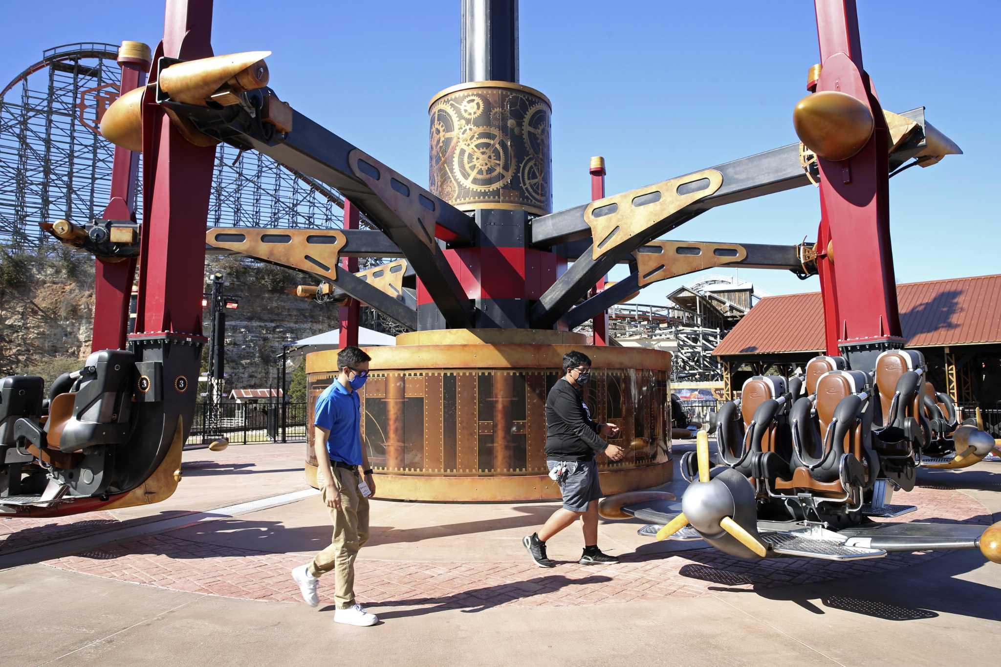 New San Antonio rides, attractions at Sea World and Six Flags Fiesta Texas