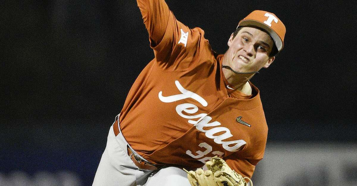 Texas starting pitcher Ty Madden held UH's bats in check Friday night.