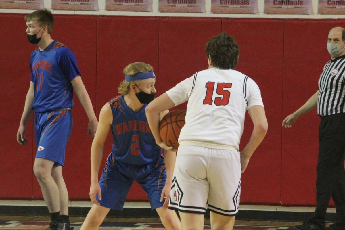 It was 58-19, Big Rapids boys over Chippewa Hills on Friday